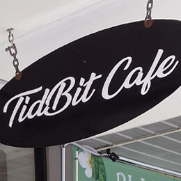 TidBit Cafe logo